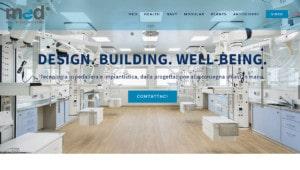 Realizzazione sito web Med Health Technologies, Padova